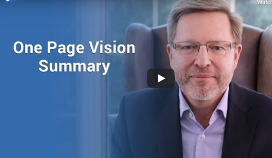 One page Vision Summary