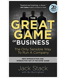 Great Game Of Business Book