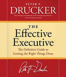 The Effective Executive Book