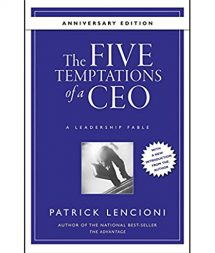 The Five Temptations of a CEO Book